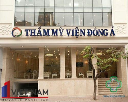 Dự án vách ngăn tiêu âm cao cấp cho thẩm mỹ viện Đông Á