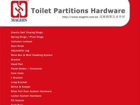 Phụ kiện vách vệ sinh Maghin